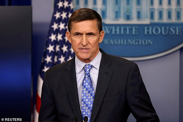 Flynn also echoed the Trump campaign's repeated allegations of widespread voter fraud in the 2020 presidential election
