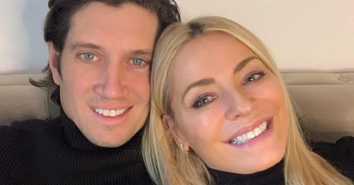 I'm A Celebrity finalist Vernon Kay finally reunites with wife Tess Daly