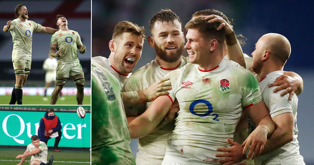 Owen Farrell lands golden shot to win Nations Cup and spare England's blushes