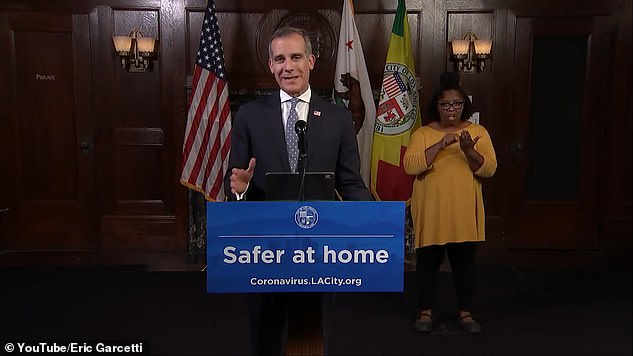 Los Angeles Mayor Eric Garcetti's order, which has a long list of exemptions for residents and businesses, mirrors a directive put in place by Los Angeles County health officials last week