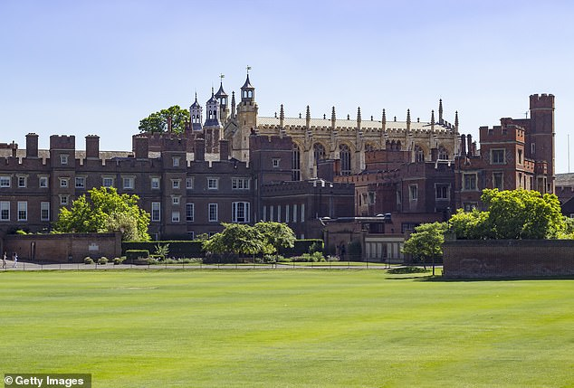 One parent said children were being indoctrinated by a 'partisan, political' Woke agenda at Eton College (pictured)