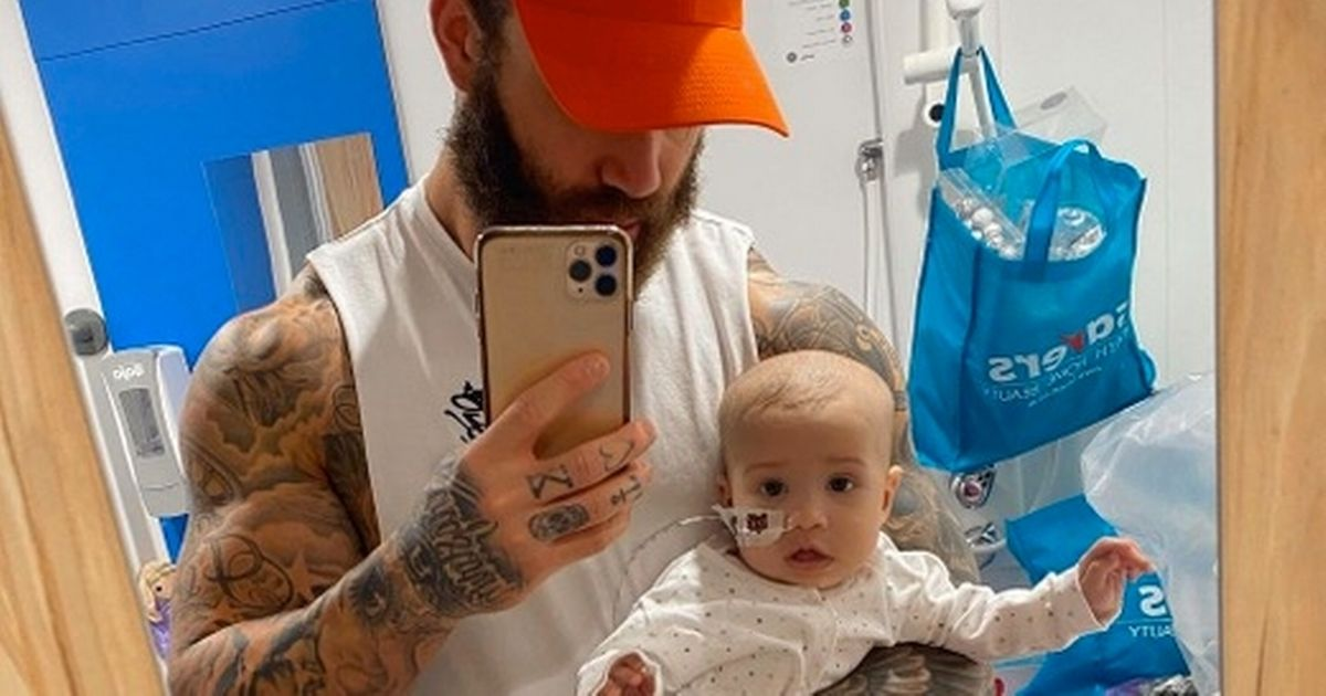 Ashley Cain's daughter Azaylia has completed her second round of chemotherapy