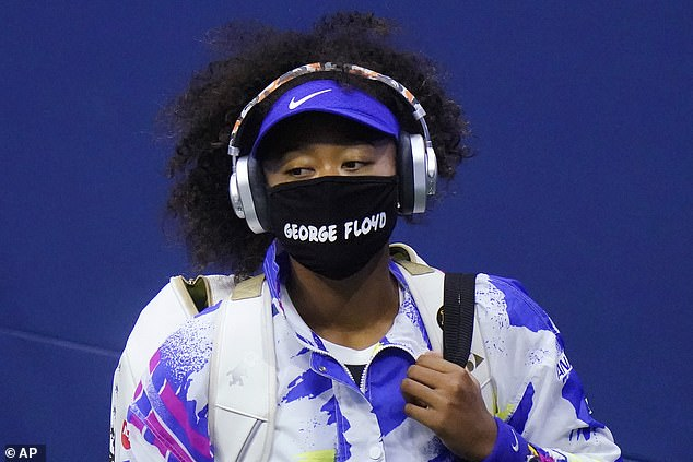 Osaka, 23, was the tennis world's most vocal star on the subject of social justice, but it may have been a fashion statement that caused the biggest stir. En route to her second US Open title in the last three years, the daughter of a Japanese mother and Haitian father began wearing a facial covering emblazoned with the names of victims of police violence