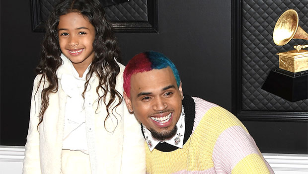 Chris Brown & Daughter Royalty, 6, Show Off Their Skills In Daddy-Daughter Dance-Off Video