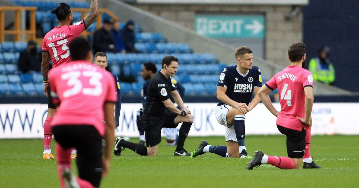 Millwall bow to pressure to ditch knee – but you haven't heard the last of it
