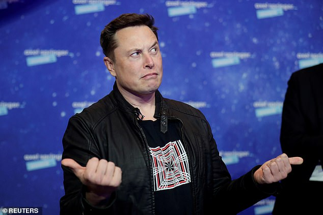Musk tweeted that a 'lot of things need to go right' for it to land back on solid ground after the suborbital flight, adding there is 'probably 1/3 chance of completing all mission objectives