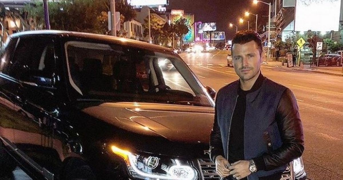 Mark Wright fears he was 'watched by thieves' before Range Rover was stolen