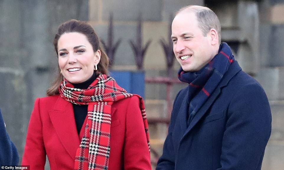 William and are undertaking a short tour of the UK ahead of the Christmas holidays, and stopped off in Cardiff this morning