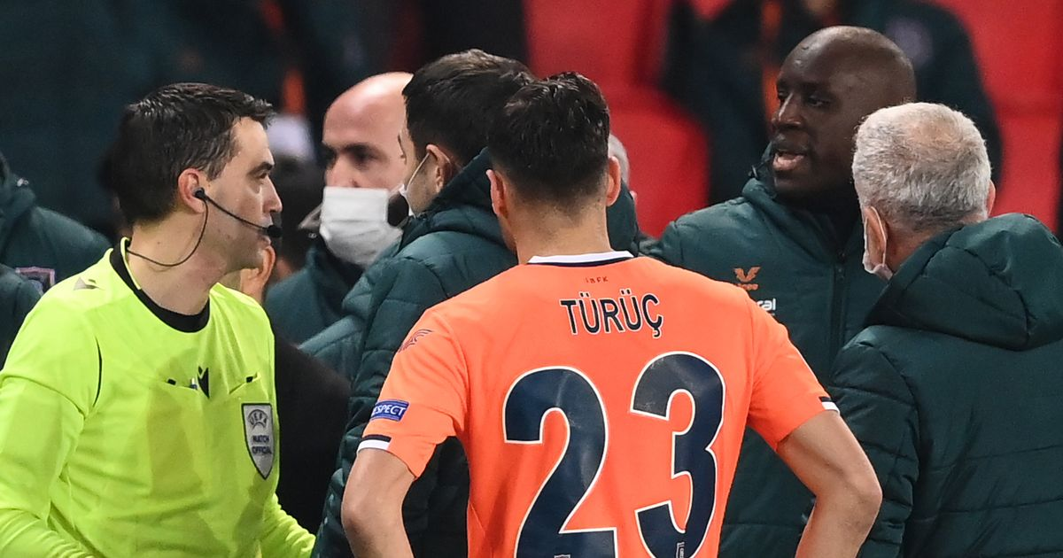 PSG vs Istanbul Basaksehir game halted after fourth official accused of racism