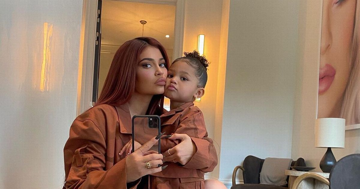 Kylie Jenner melts fans' hearts as she twins with Stormi in matching outfits