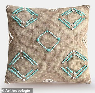 She also has this$390 Charlie Sprout Almasi Pillow