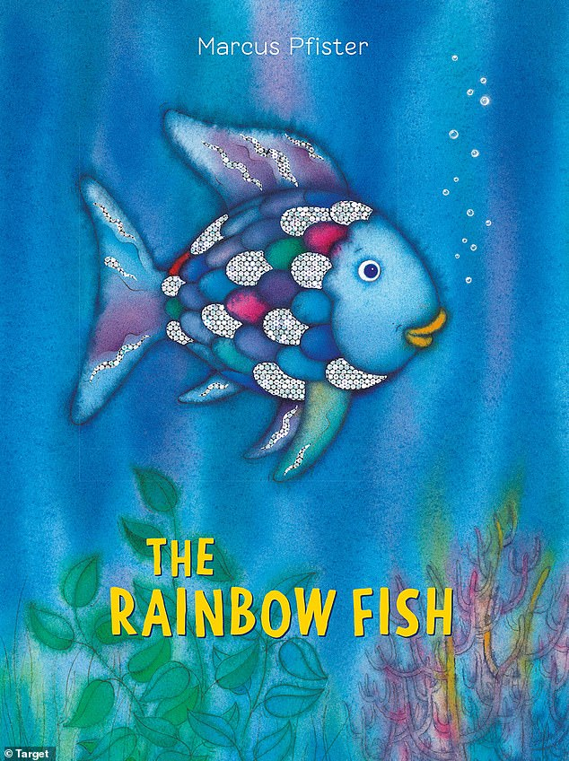 Childhood fave: They have classics like 'Goodnight Moon' by Margaret Wise Brown, 'The Rainbow Fish' by Marcus Pfister (pictured), and 'Are You My Mother?' by P. D. Eastman