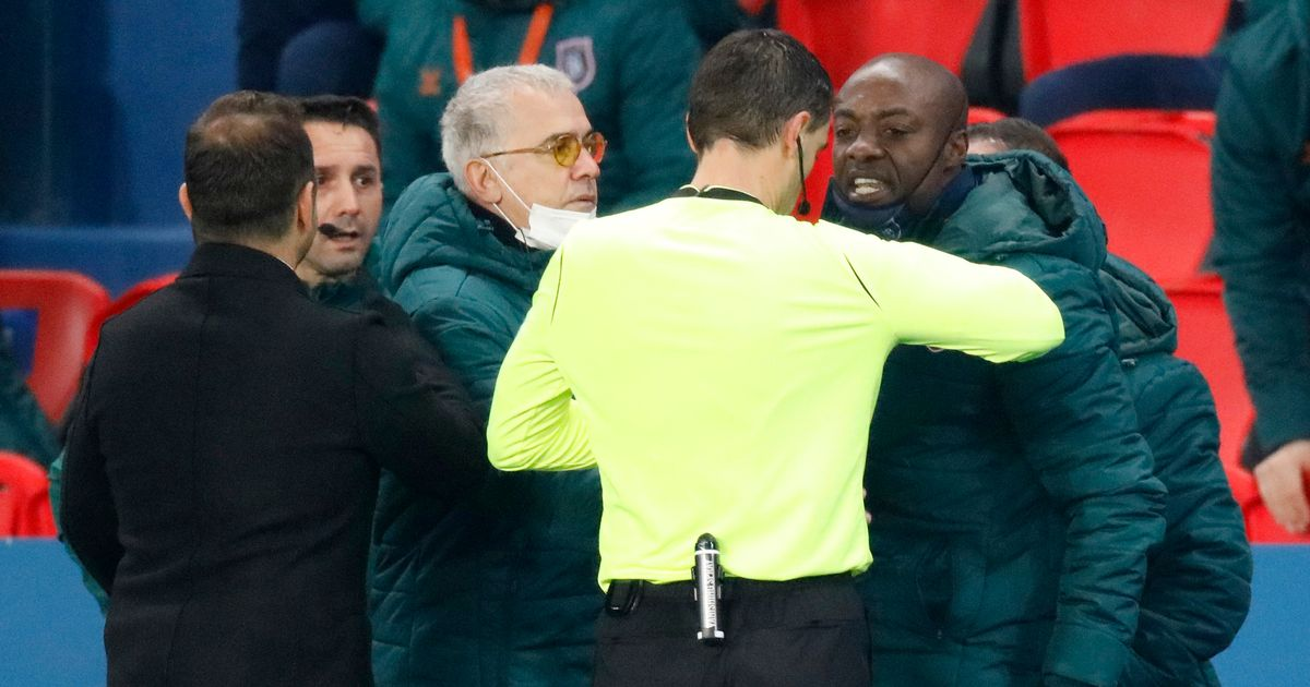 TV footage shows what fourth official said to spark PSG vs Istanbul protest