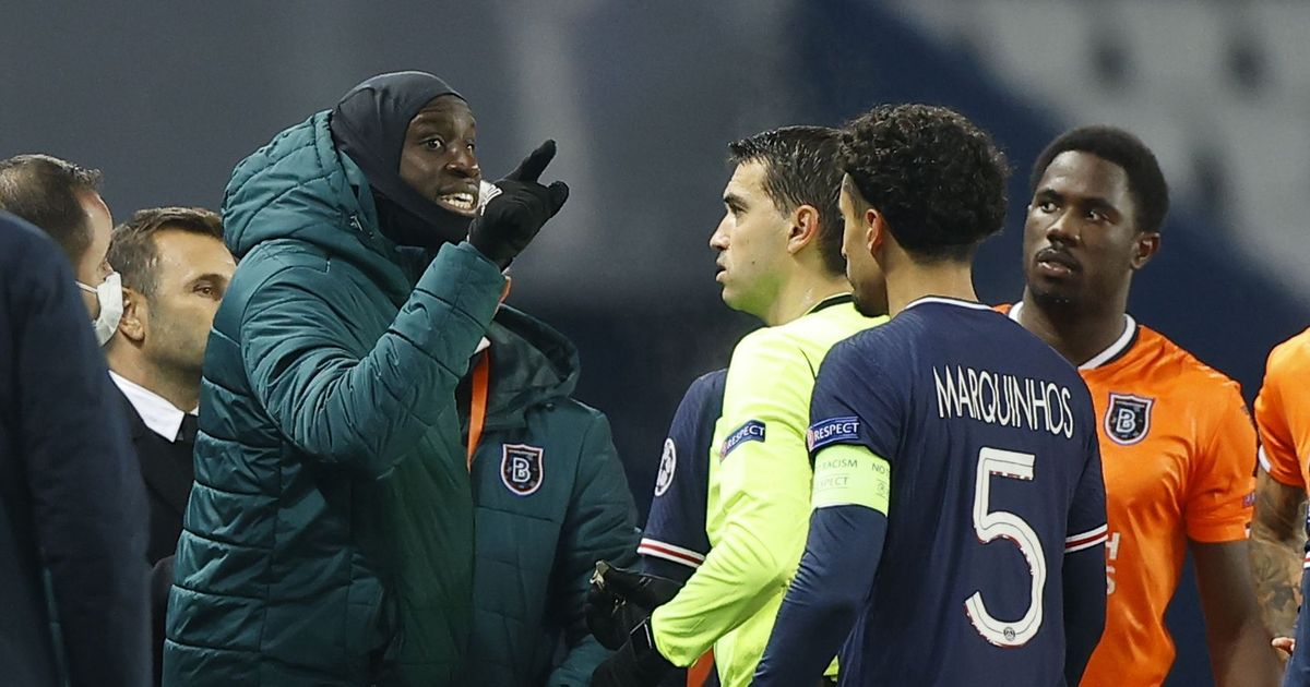 Ba's furious response as 4th official accused of racism in PSG v Istanbul game