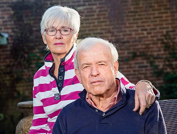 Gaye kyle (pictured with partner Colin Jones) lost £9,000 after a website promised to help the retired palliative care nurse find a top fixed-rate bond