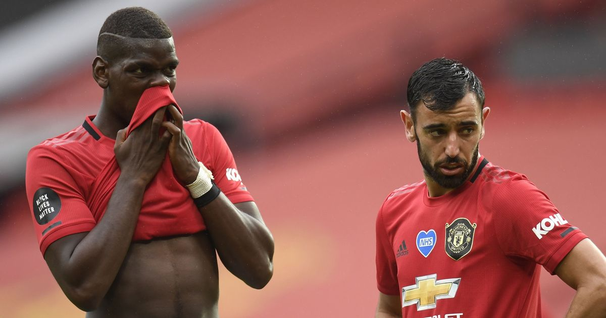 Bruno Fernandes helps Man United come to a decision on Paul Pogba