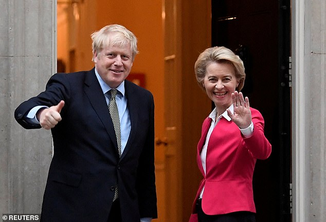 Boris Johnson will fly to Brussels tonight in a last-ditch bid to salvage a Brexit trade deal over dinner with European Commission chief Ursula von der Leyen