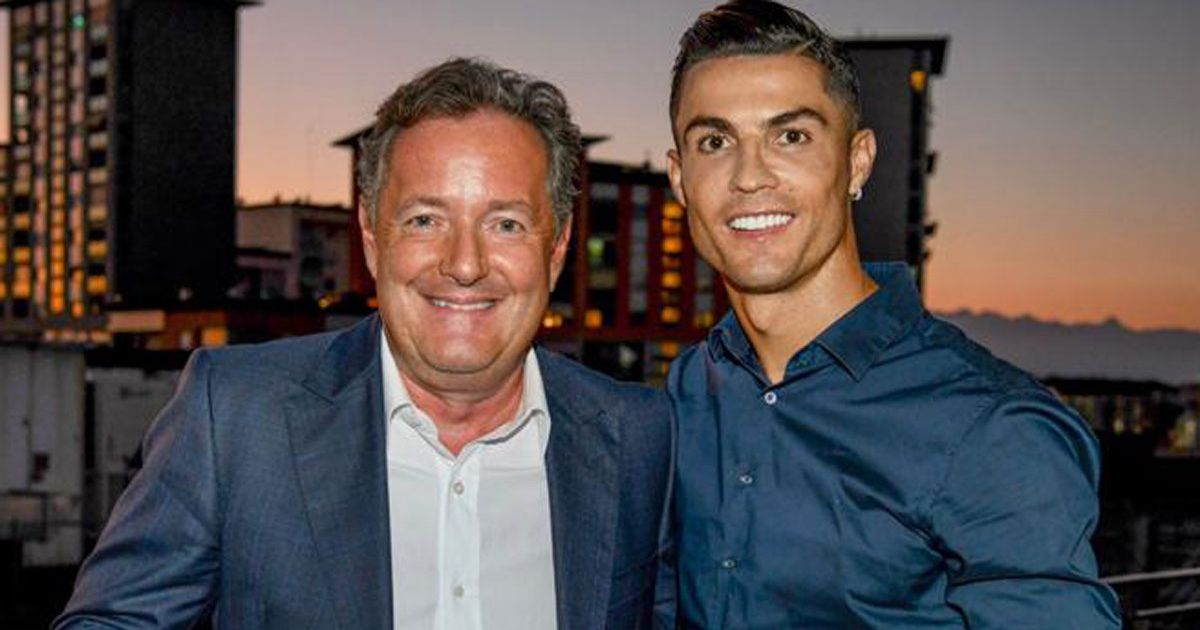 Piers Morgan details Cristiano Ronaldo chat after Juventus beat Barcelona