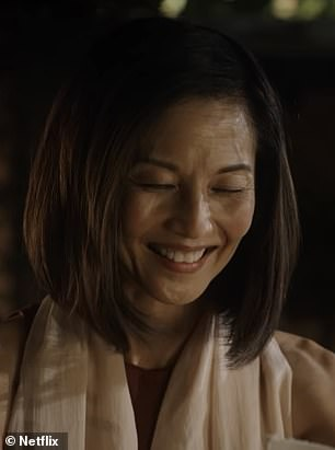 Japan trip: New this season to the formerly YouTube Red series is the return of Yuji Okumoto and Tamlyn Tomita (pictured), whom Daniel encounters while visiting Okinawa