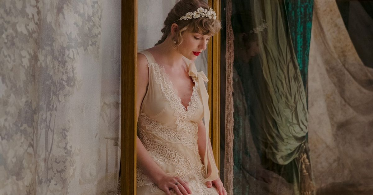 Taylor Swift sparks marriage rumours amid bridal dress and cryptic album name