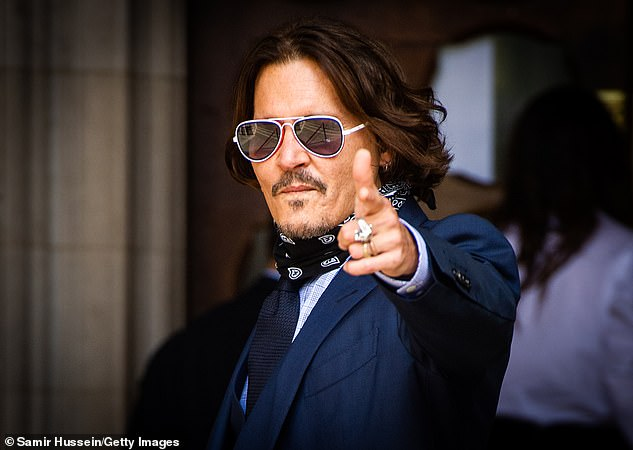 The actor, pictured at court this year, has been ordered to pay The Sun an initial amount of £630,000 in legal fees, but called the judgment 'perverse' and 'bewildering' as he vowed the appeal the ruling