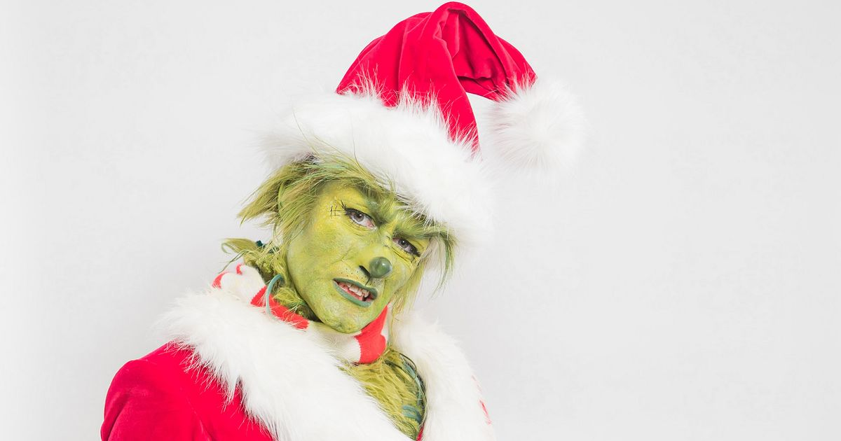 Matthew Morrison transforms into The Grinch and fans call it 'nightmare fuel'