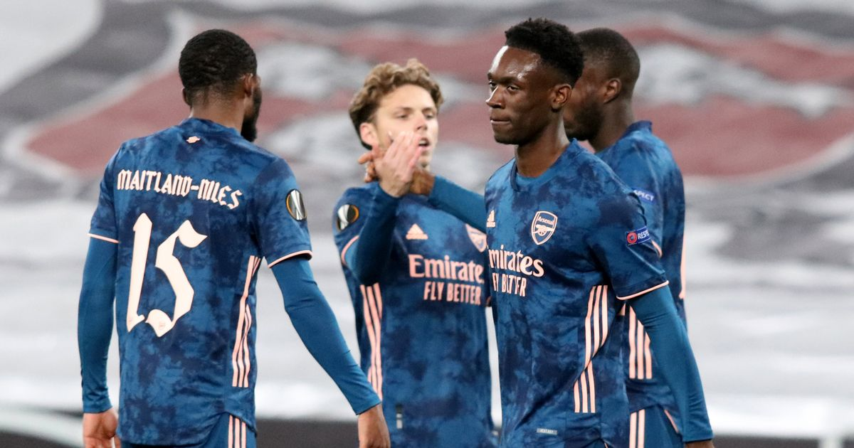 Balogun compared to two Premier League legends after impressive Arsenal cameo