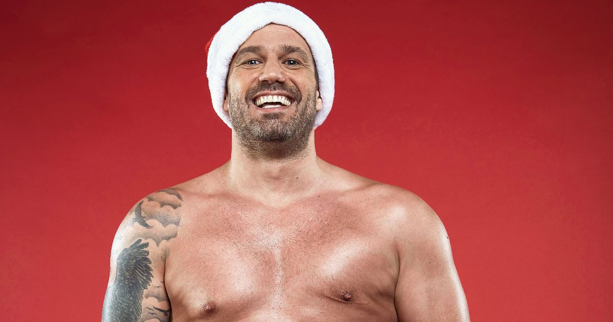 Jamie Lomas signed up for Real Full Monty after dad's prostate cancer diagnosis