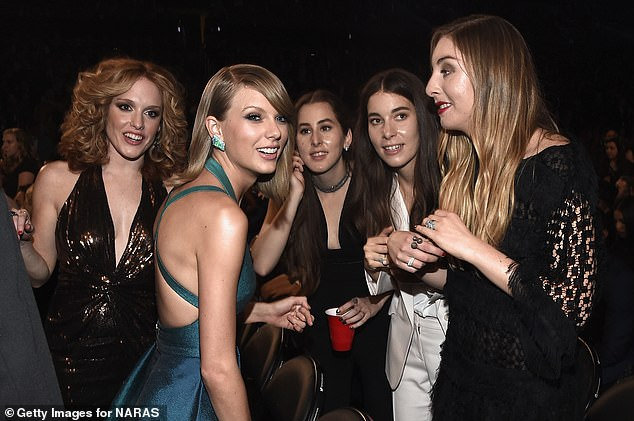 Interesting: While it's unclear if another album will happen, Taylor recently revealed some of the background to her track No Body, No Crime with the Haim sisters. They're all seen with actress Abigail Anderson (far left) above