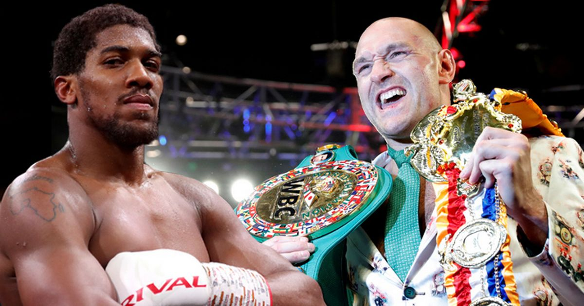 Inside story of Anthony Joshua's undisputed fight with Tyson Fury