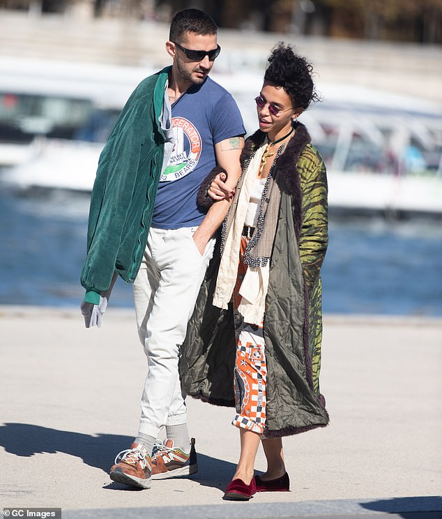 Shia LaBeouf allegedly hid his STD symptoms with make-up and knowingly infected at least one other woman before FKA twigs, according to the singer, who described her ex-boyfriend as 'a danger to women everywhere'. The pair pictured in Paris in September 2018 when they were first romantically linked