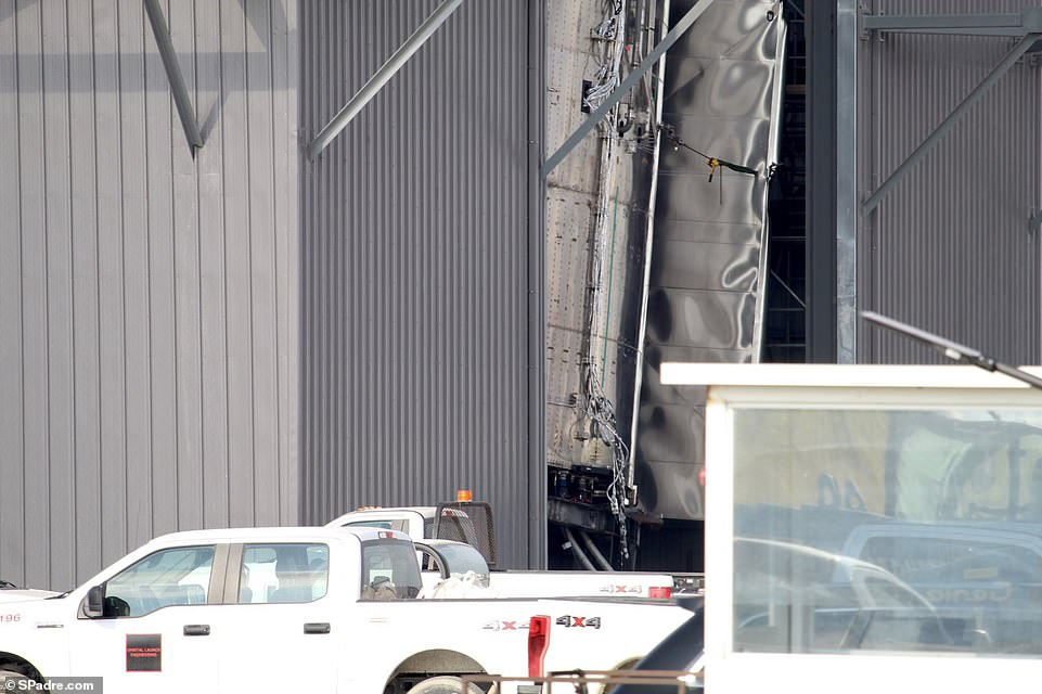 SpaceX announced it would soon move SN9 to the launch pad shortly after SN8 took flight and according to road closures n Boca Chica, it could take off sometime next week. However, it is not clear if the latest prototype was damaged when it fell over Friday