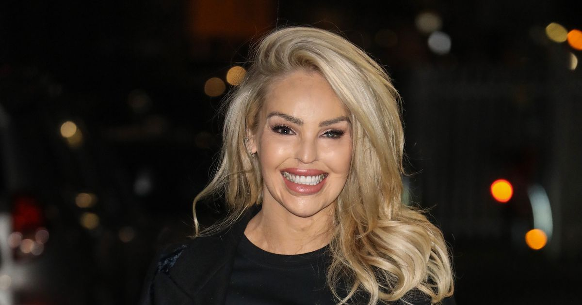 Katie Piper enjoys post-lockdown night out in Dirty Dancing tribute