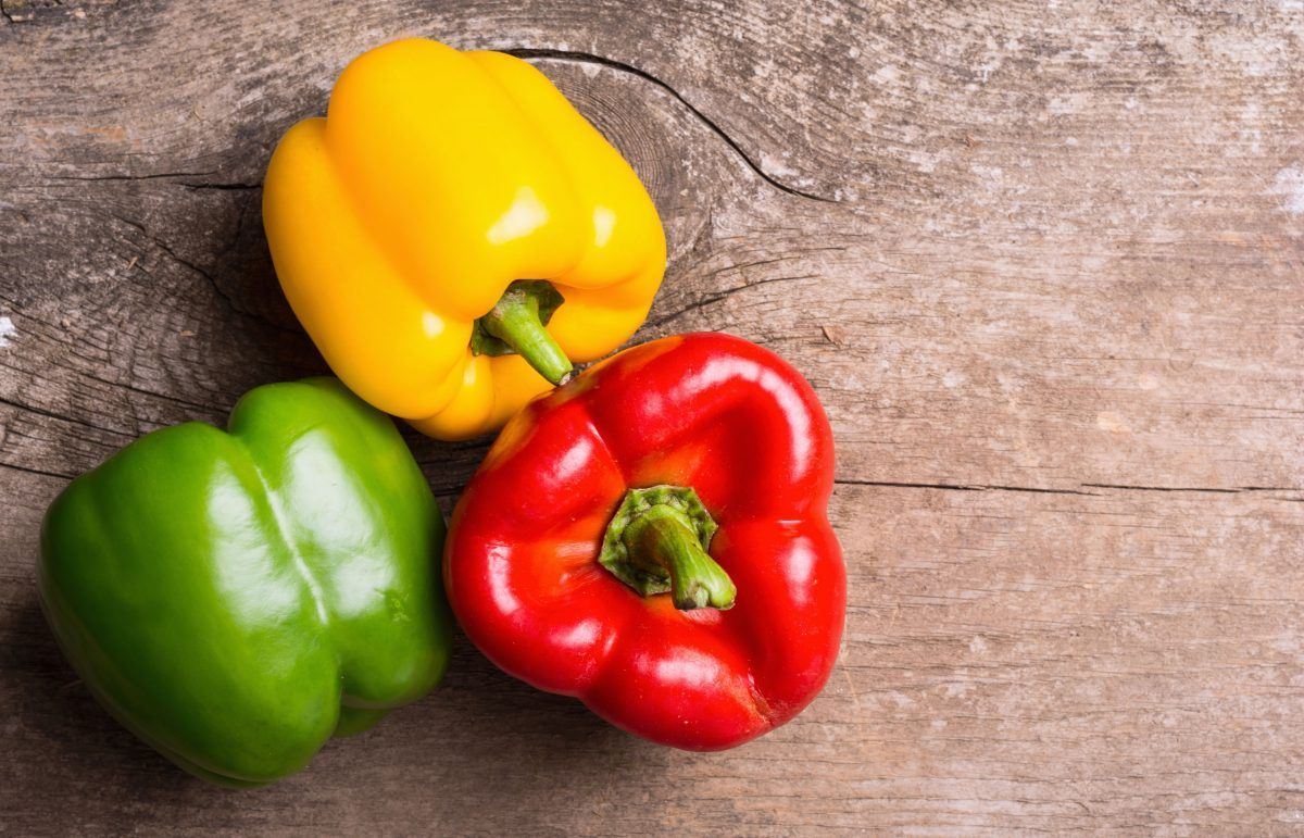 Why is eating bell pepper so good for your skin?   The State