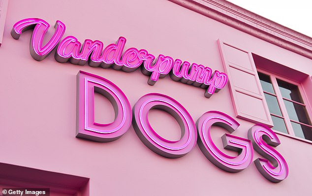 Adopt, don't shop: Vanderpump launched her foundation in 2016, in response to the Yulin Dog Meat Festival in China, later opening her rescue center Vanderpump Dogs in March of 2017 (pictured in March, 2017)