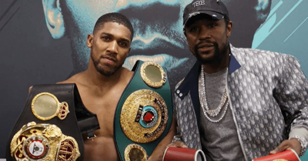 Anthony Joshua on what Floyd Mayweather told him after Kubrat Pulev victory