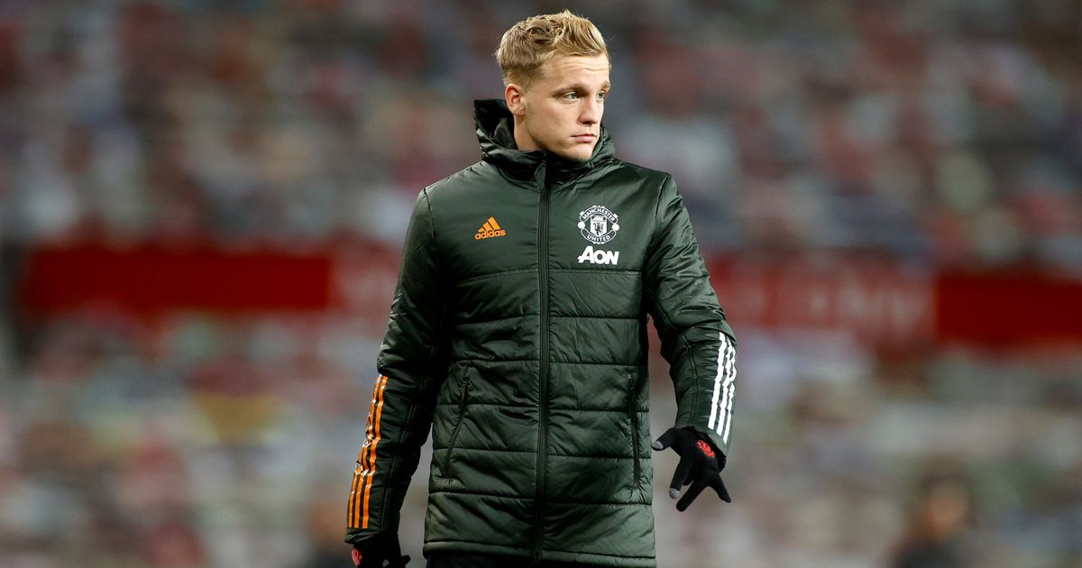 Louis van Gaal tells Donny van de Beek he made a mistake joining Man Utd