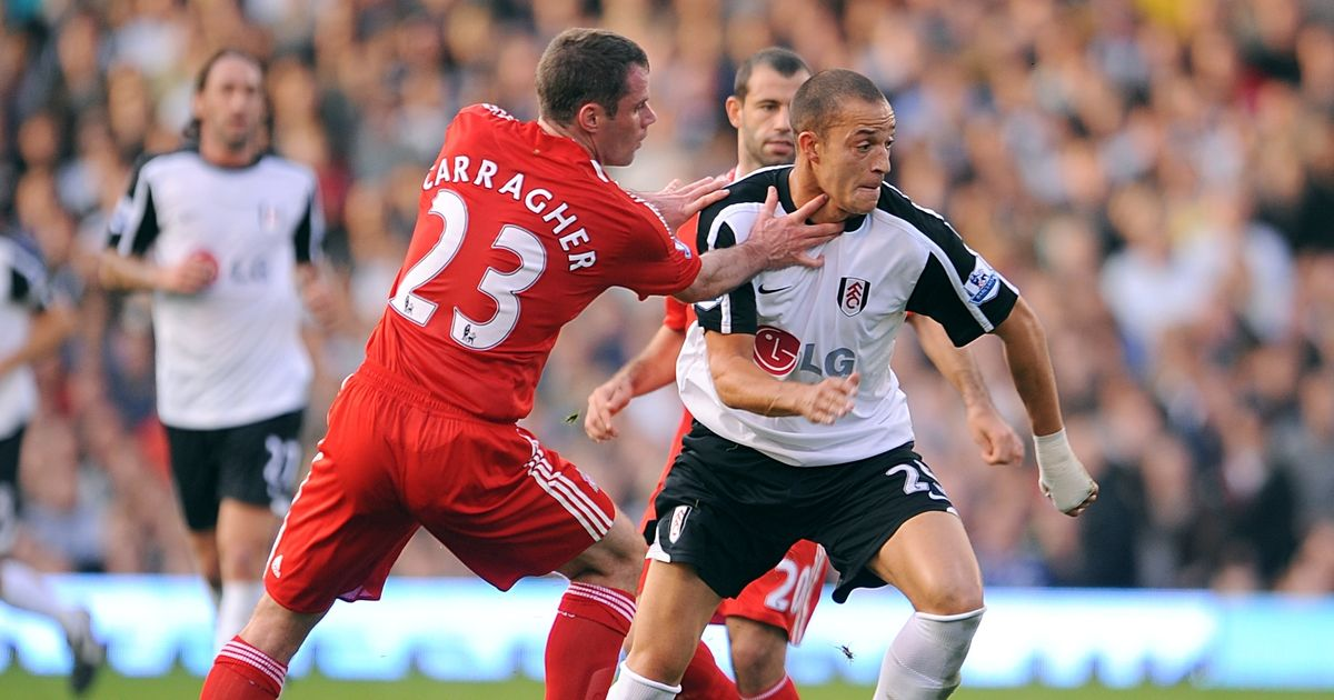 """Jamie Carragher """"was the easiest defender to play against"""", claims Bobby Zamora"""