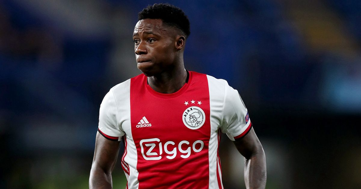 Ajax forward Quincy Promes arrested after 'family member stabbed at party'