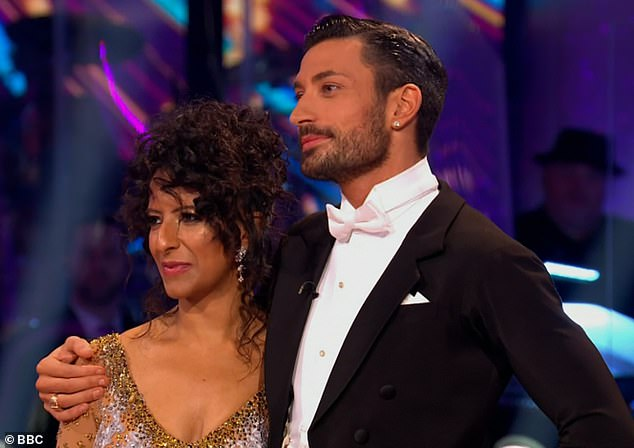 Gutted:The Good Morning Britain presenter admitted that she was 'sad' not have made to next Saturday's grand finale with her pro partner Giovanni Pernice