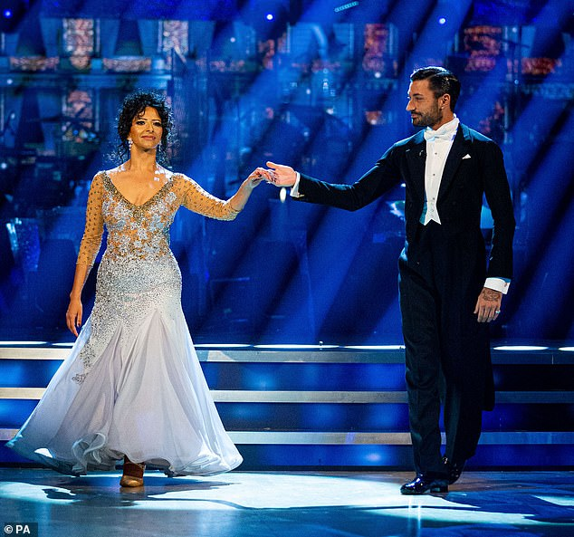Sensational:On Saturday night, Ranvir and Giovanni pulled off a breathtaking Waltz to the song Un Giorno Per Noi by Josh Groban