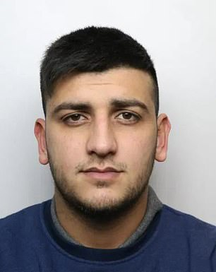 Groom: Waliyha is said to have tied the knot with Junaid Khan, 24, who was jailed for five years in 2017 for a carjacking incident