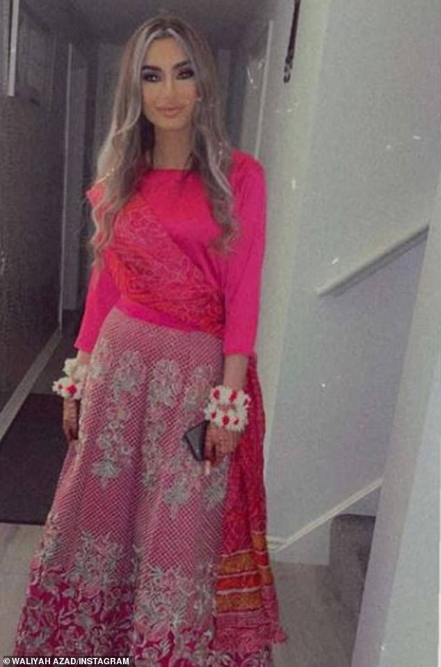 Congratulations!The model, 25, admitted she was disappointed to have missed out on the special day after Waliyha shared a flood of stunning snaps on Instagram