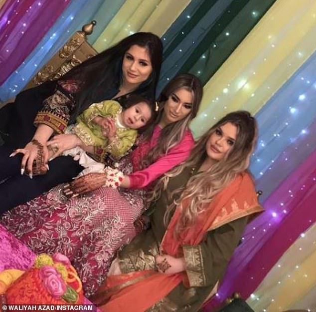 Wedding:Announcing that she had tied the knot, the singer's sister shared stunning snaps of her in a glamorous fuchsia outfit surrounded by her loved ones