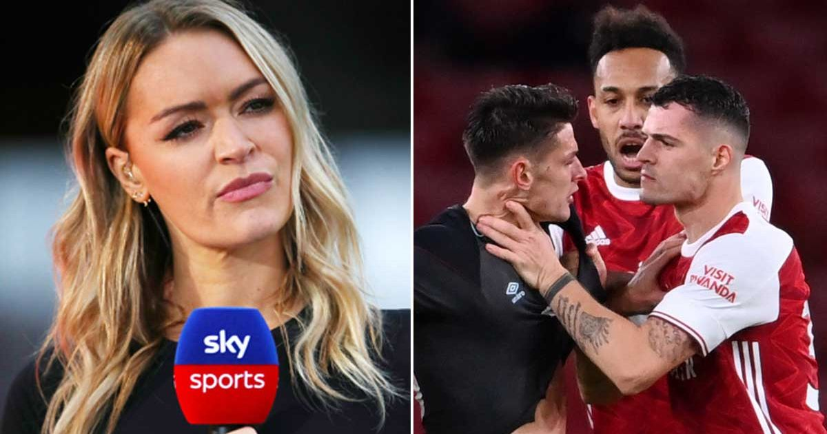 """Laura Woods' superb takedown of Xhaka and Arsenal flops who """"don't want to play"""""""