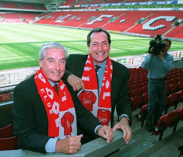 The Frenchman first joined Liverpool as co-manager with Roy Evans