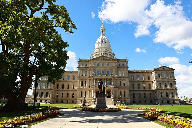 The Michigan state capitol and office buildings are closed to the public Monday after state officials said it was under threat