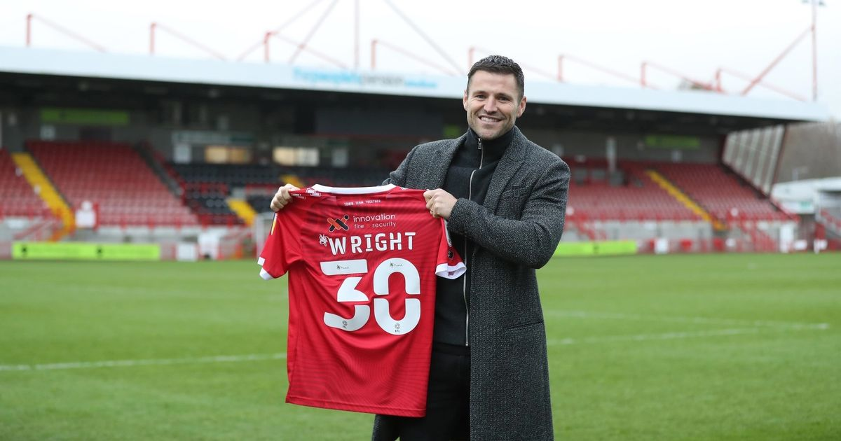 TOWIE's Mark Wright signs for League Two football club in new career change
