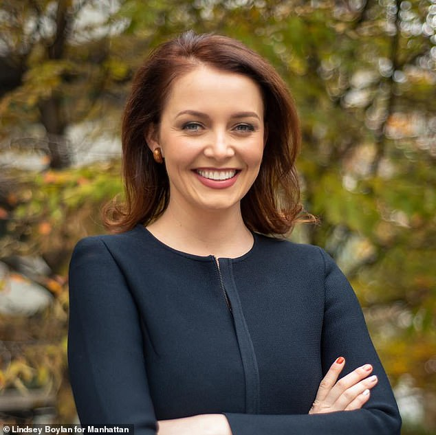 Lindsey Boylan worked for Governor Andrew Cuomo in New York from 2015 to 2018