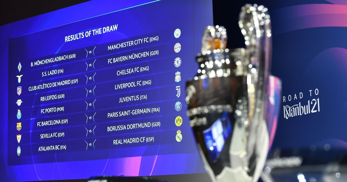 Supercomputer predicts Champions League winner after last-16 draw